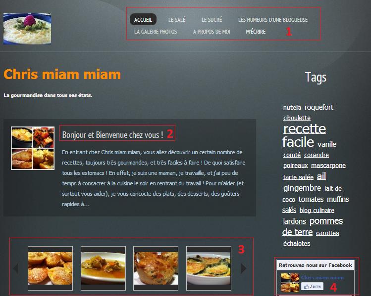 Radiographie cr er un blog de cuisine chrismiammiam webnode blog - Creer un blog de cuisine ...